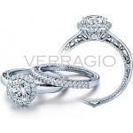 Verragio Round Halo Diamond Engagement ring