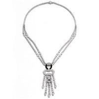 Entice Collection Art-Deco Necklace H01379