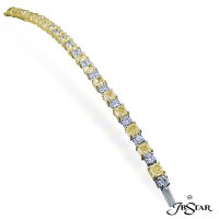 JB Star/Jewels By Star Fancy Color Diamond Bracelet