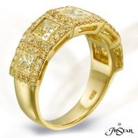 JB Star/Jewels By Star Fancy Color Diamond Band