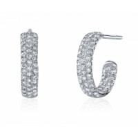 Coast Diamond Diamond Hoop Earrings - EC5124