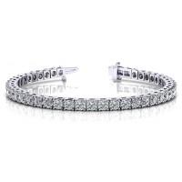 7.32 Carat Diamond Tennis Bracelet