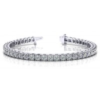 4.24 Carat Diamond Tennis Bracelet