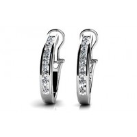 1.33 Carat Diamond Earring