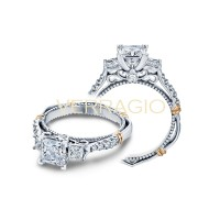 Verragio Parisian Collection Engagement Ring D-124P-GOLD