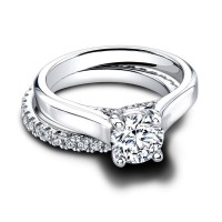 Jeff Cooper Geneva--Tate E Engagement Ring