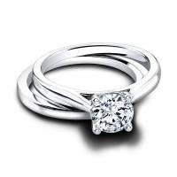 Jeff Cooper Gloria--Tess Engagement Ring