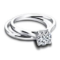 Jeff Cooper Tess Round Engagement Ring