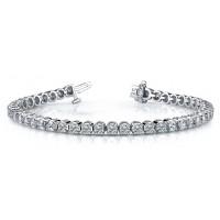 7.6 Carat Diamond Tennis Bracelet