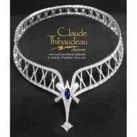 Claude Thibaudeau Platinum or 18Kt White or 14Kt White Diamond Necklace SD-10165-PRC