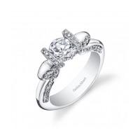Gelin Abaci Tension Set Diamond Engagement Ring TR-270