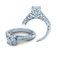 Verragio Venetian Collection Pave Diamond Engagement Ring