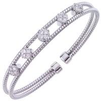 .55 Carat Diamond Bangle