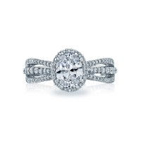 Tacori Dantela Collection Triplet Band Ring 2641OVP8X6