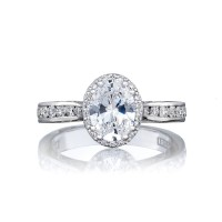 Tacori Dantela Collection Engagement Ring 2646-3OV8X6
