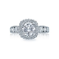 Tacori Blooming Beauties Collection Round Cut Ring HT2521CU7