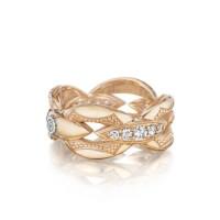 Tacori The Ivy Lane Bold Pink Links Ring