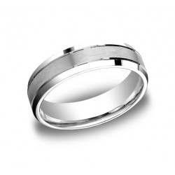 Designs White Gold 6mm Band