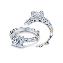 Verragio Prong & Pave Set Diamond Engagement Ring