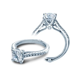 Verragio Pave Set Diamond Engagement Ring