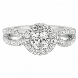 Our Destiny Our Dreams Split Shank Engagement Ring