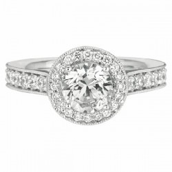Our Destiny Our Dreams Halo Engagement Ring