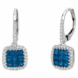 Precious Trends Colored Gemstone Earring
