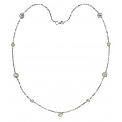 5.0 Carat Diamond Necklace