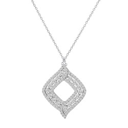 1.21 Carat Diamond Necklace