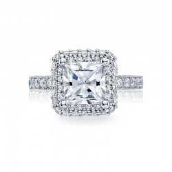 Tacori Blooming Beauties Collection Engagement Ring HT2520PR75