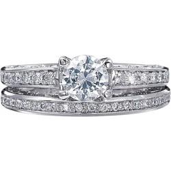 Verragio Round Brilliant Diamond Engagement Ring