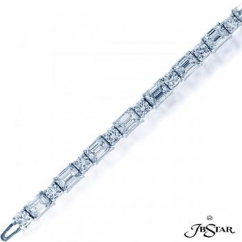 JB Star/Jewels By Star Single Line Diamond Bracelet