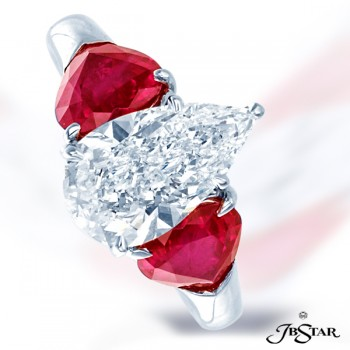 JB Star/Jewels By Star 3-Stone Color & Classic Color Rings