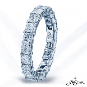 JB Star/Jewels By Star Single-Row Eternity Band