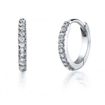 Coast Diamond Diamond Hoop Earrings - EC5135