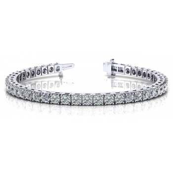 4.94 Carat Diamond Tennis Bracelet