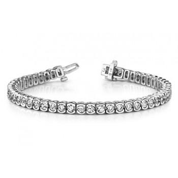 4 Carat Diamond Bracelet