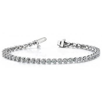 5.14 Carat Diamond Tennis Bracelet