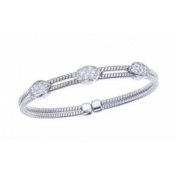 .75 Carat Diamond Bangle