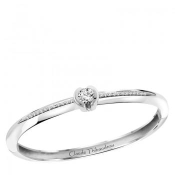 Claude Thibaudeau Platinum 18Kt White or 14Kt White Bracelet