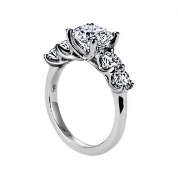 "Sasha Primak Five-Stone ""Trellis"" Diamond Engagement Ring"