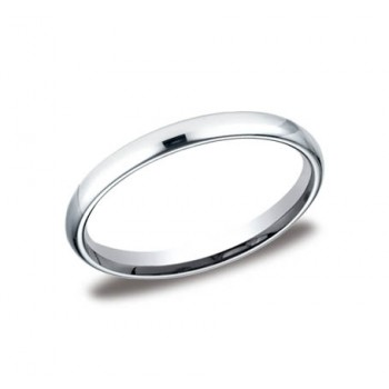 Classic White Gold 2.5mm Band