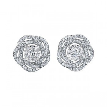 Memoire Diamond Bouquet Flower Earrings