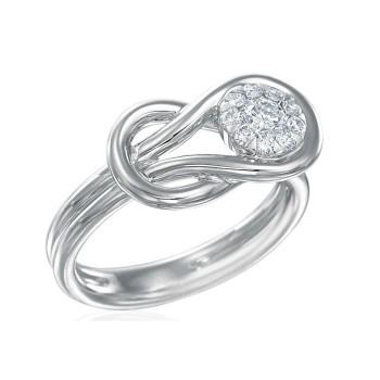Memoire Love Knot Diamond Ring