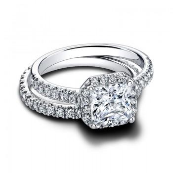 Jeff Cooper Tate Oct Set Engagement Ring