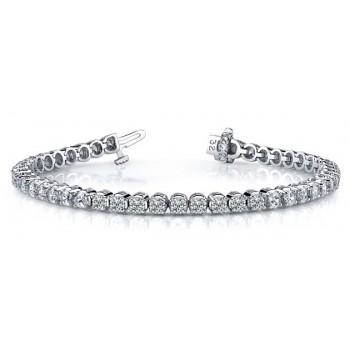 4.34 Carat Diamond Tennis Bracelet