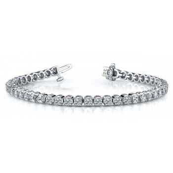 4.85 Carat Diamond Tennis Bracelet