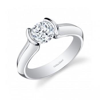 Gelin Abaci 14k White Gold Diamond Engagement Ring TR-256