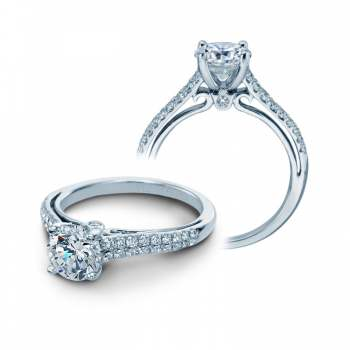 Verragio Elegant Pave Diamond Engagement Ring