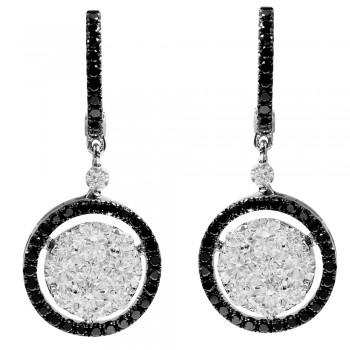 1.94 Carat Diamond Earrings